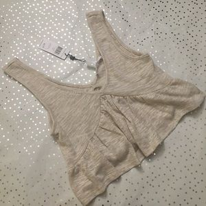 💎NWT💎 BCBGENERATION Plunging Crop Top